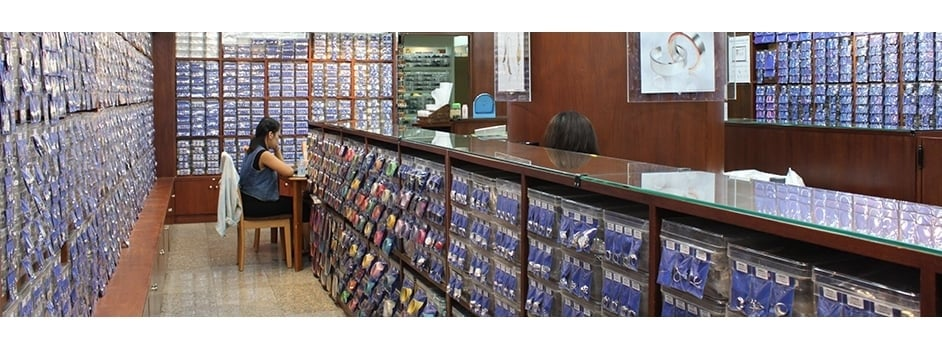 Wholesale Silver Jewelry Store Bangkok