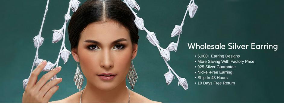 Wholesale Silver Earring