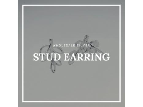 Wholesale Silver Stud Earring
