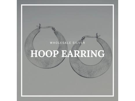 Wholesale Silver Hoop Earring