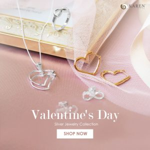 Valentine's Day Silver Jewelry Collection