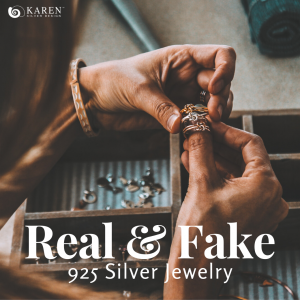 How to tell apart 925 silver from fake silver 2