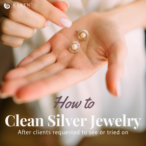 How To Clean Silver Jewelry Before Displaying In Your Shop