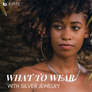 what to wear with silver jewelry