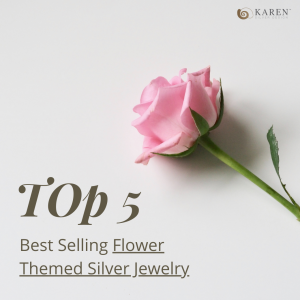 Top 5 Best Selling Silver Flower Jewelry