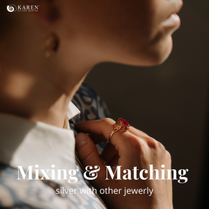 Mixing and Matching Silver With Other Jewelry