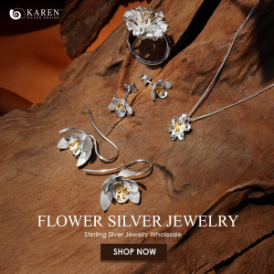 Top Selling Sterling Silver Flower Jewelry