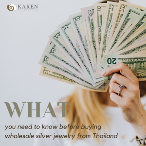 Things you need to know before buying wholesale silver jewelry from Thailand (1)