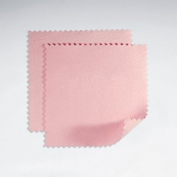 4x4mm Silver Jewelry Polishing Cloth Pack of 10 pieces