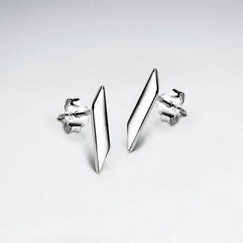 925 Silver Bar Earrings