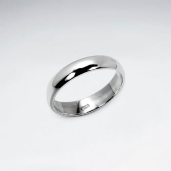 .925 Sterling Silver Unisex Ring