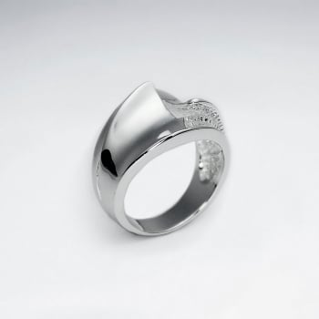 A Simple Band Sterling Silver Ring