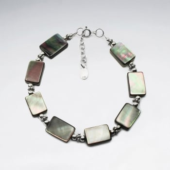 Abalone Rectangle Beads Bracelet