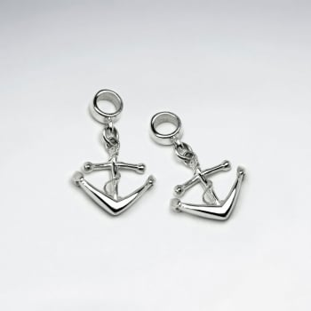 Anchors Away Sterling Silver Charm