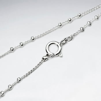 Bead Trace Chain 925 Silver