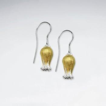 Bluebells Sterling Silver Flower Blossom Earrings