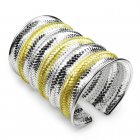 Classic Two-Tone Bangle