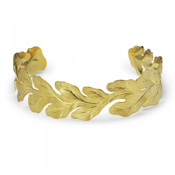 Crowning Vector Headband in Gold Plated Sterling Silver