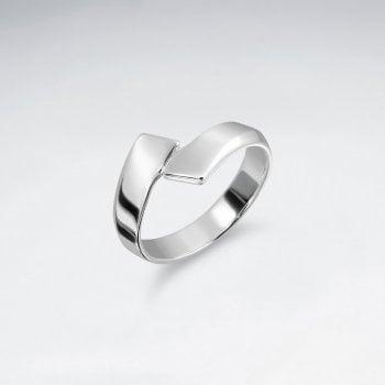 Elegant Sterling Silver Wrap Ring