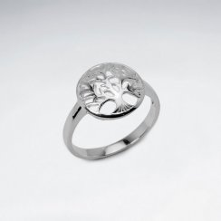 Enchanting Tree of Life Sterling Silver Ring