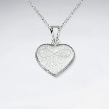 Eternal Love Infinity Heart Pendant