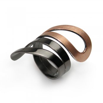 Eternally Yours Bold Style Wrap Ring