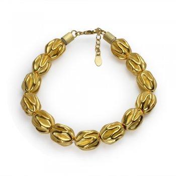 Fantastic Ruched Beaded Bracelet