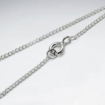 Far Curb 925 Silver Chain
