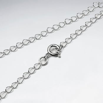 Far Curb 925 Silver Chain