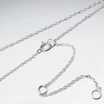 Far Round 925 Silver Chain