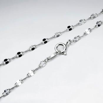 Figaro Silver Chain
