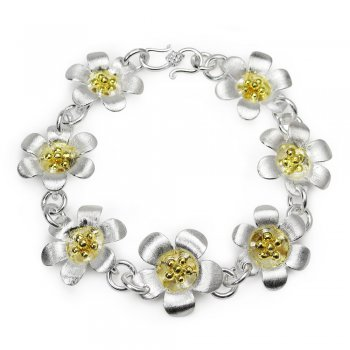 Flower Wreath Bouquet Bracelet