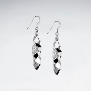 Glamorous Gradual Drop Chandelier Earrings