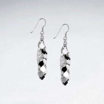Glamorous Gradual Drop Chandelier Earrings