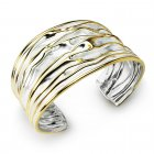 Golden Teak Collection Sterling Silver Bangle