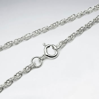 Loose Rope 925 Silver Chain