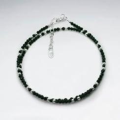 Malachite Full Bead Double Strand Wrap Bracelet