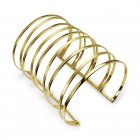 Mesmeric Grecian Styled Wide Open Bangle Cuff