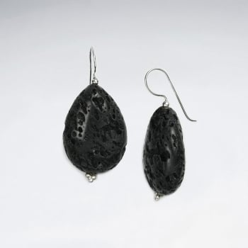 Midnight Affairs Lava Teardrop Earrings