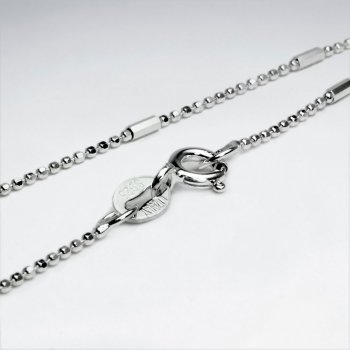 Mixed Ball  925 Silver Chain