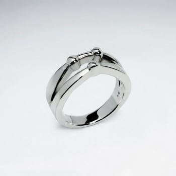 Modern Accents Sterling Silver Ring