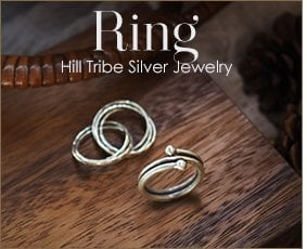 Karen Hill Tribe Silver Ring Wholesale