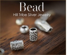 Karen Hill Tribe Silver Bead Wholesale