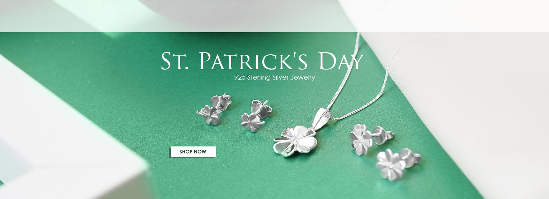 St Patricks Day 925 Sterling Silver Jewelry Wholesale