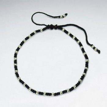 Nylon Cord Studded Bracelet