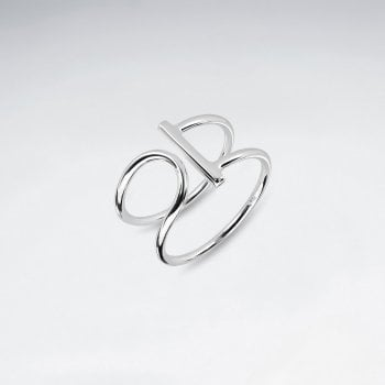 Open-Ended Sterling Silver Bar Ring