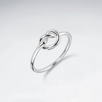 Openwork Sterling Silver Knot Ring
