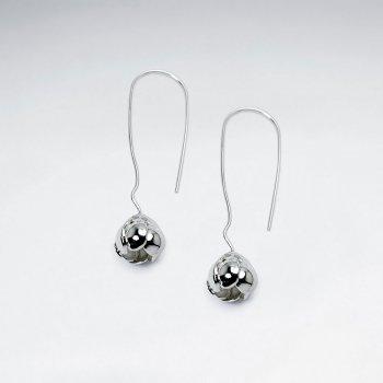 Petite Dangle Drop Sterling Silver Earrings