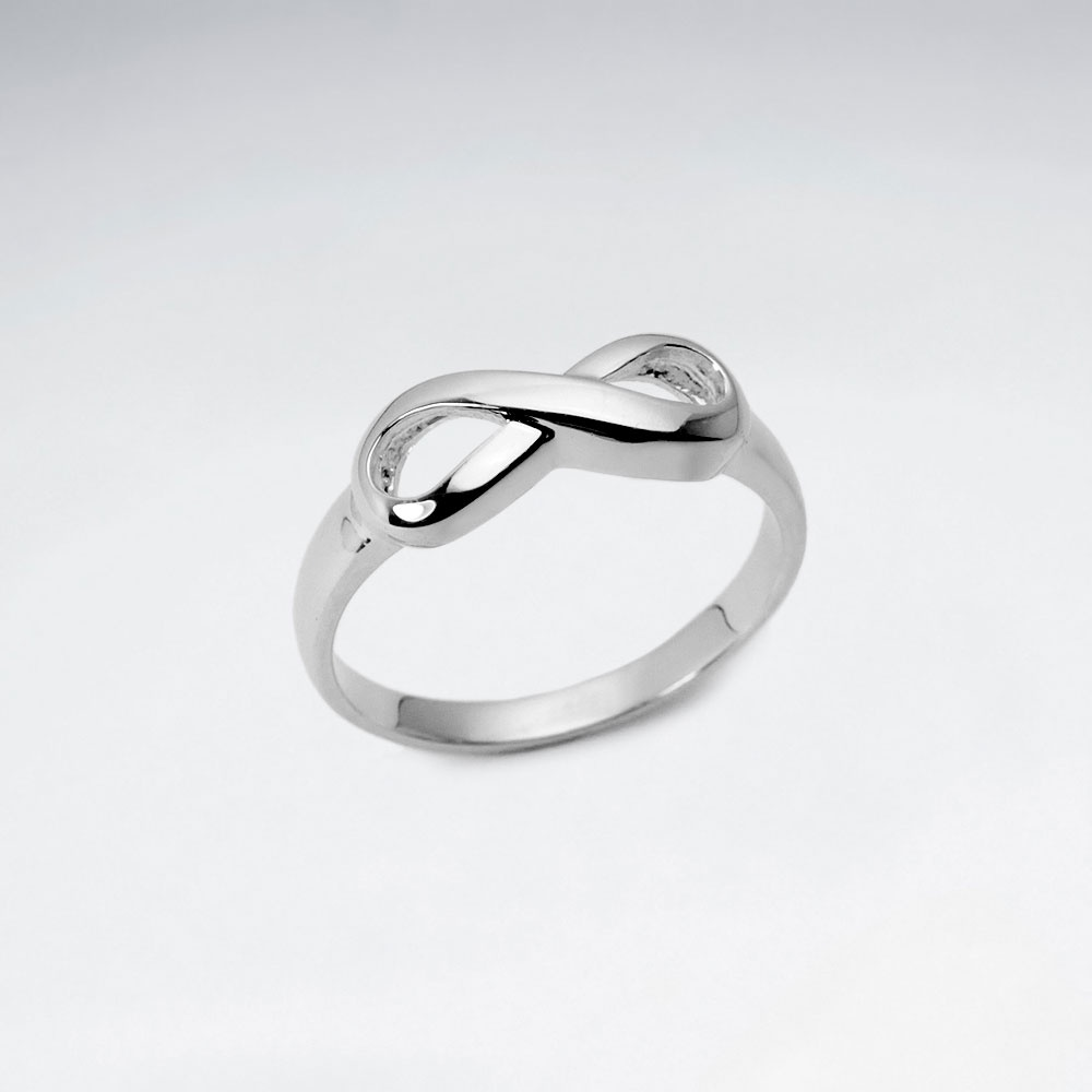 plain ring views best sterling silver buys infinity more