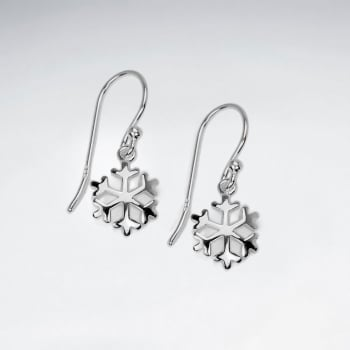 Pretty as a Snowflake Sterling Silver Earrings